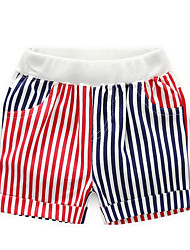 Stripes and Stars Baby Boys Denim Shorts Kids Pants Casual 2-14Y 2016 Summer Style Cotton Shorts Children Jeans Boy