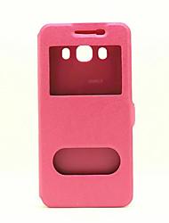 Pour Coque Huawei P9 P9 Lite P8 P8 Lite Avec Ouverture Clapet Coque Coque Intégrale Coque Couleur Pleine Dur Cuir PU pour HuaweiHuawei P9