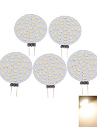 4W G4 Точечное LED освещение MR11 36 SMD 3014 400-480 lm Тёплый белый / Холодный белый Декоративная DC 12 / AC 12 V 5 шт.