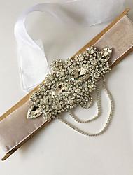 Femme Strass / Tulle / Imitation de perle Casque-Mariage / Occasion spéciale Serre-tête 1 Pièce