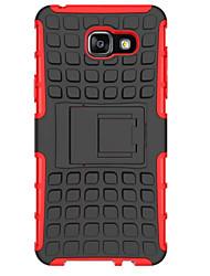 Für Samsung Galaxy Hülle Stoßresistent / mit Halterung Hülle Rückseitenabdeckung Hülle Panzer Gummi Samsung A7(2016) / A5(2016) / A3(2016)