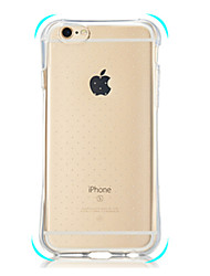 iPhone 7 Plus Second-Generation Airbag Drop All-Inclusive Transparent TPU Phone Case for iPhone 5/5S/SE