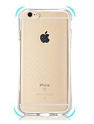 iphone 7 плюс второе поколение подушек безопасности падение все включено прозрачный случай телефона TPU для Iphone 5 / 5s / SE