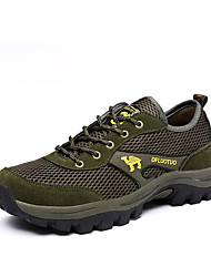 Men's Shoes Climbing/Hiking/Trail Running/Outdoor Tulle Leather Athletic Shoes 40-45