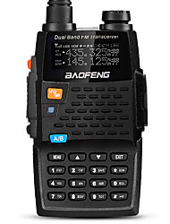 BAOFENG UV-5R 4TH Walkie Talkie 5W/1W 128 136-174MHz / 400-520MHz 2800mAh 1.5 km -3 kmFM Radio / Sprachansage / Dual - Band / Dual -