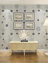 papel de parede Geométrico Papel de parede Contemporâneo Revestimento de paredes,PVC/Vinil