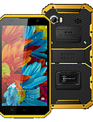 "Kenxinda PROOFINGS W9 6.0 "" Android 5.1 Smartphone 4G ( Chip Duplo Octa Core 1.3MP 2GB + 16 GB Cinzento / Amarelo )"