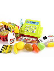 Children's educational enlightenment toys Children's play sets joyous sound and light simulation toy cash register