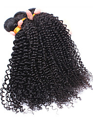 3Pcs/Lot 6A Brazilian Virgin Curly Hair Kinky Curly  100% Unprocessed Brazilian Kinky Curly  Human Hair Curly Hair Wefts
