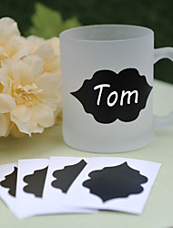 PVC Blackboard Stickers ---- Lip (set of 6)