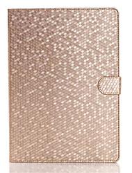 moda estojo de couro diamante para Apple iPad 2 ar aleta ficar esperto tablet tampa da caixa protetora para shell de ar ipad