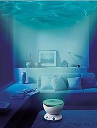 LED noite luz do projetor oceano ondas daren projetor lâmpada de projeção com alto-falante