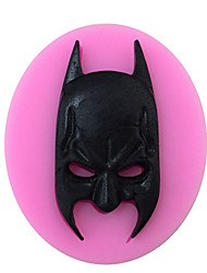 Batman Shaped Silicone Fondant Cake Cake Chocolate Silicone Molds,Decoration Tools Bakeware