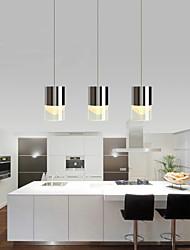 Luzes Pingente - Metal - LED / Lâmpada Incluída - Sala de Jantar / Cozinha