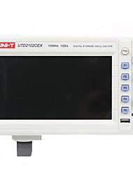 uni-t utd22102cex blanc pour oscilloscopes de paillasse