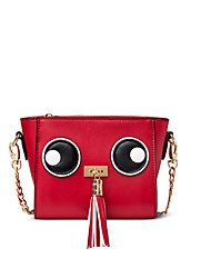 Figestin® Women PU Shoulder Bag Red-FW154121