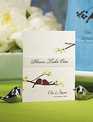Love Bird Place Card Holders Wedding Decorations (w/o white card) BETER-WJ082