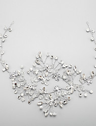 Women's / Flower Girl's Rhinestone / Crystal / Alloy Headpiece-Wedding / Special Occasion Headbands 1 Piece Clear