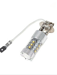 1 pcsH1/H3/H4/H6/H7/H8/1156/1157 80W 14X 1200LM Cool/Natural White Lights DC 24/DC 12V