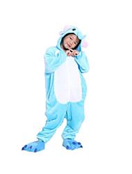 nuevo pijama de franela niños Kigurumi elefante cosplay® (sin zapatos)
