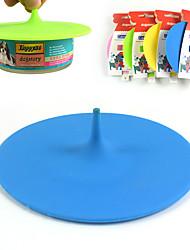 conserve animal housse en silicone chapeau pour couvrir la couverture alimentaire forme silicone couvercle nourriture pour chien