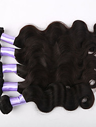 3pcs/lot Brazilian Body Wave Mink Brazilian Virgin Hair Body Wave Human Hair Weft Weaves