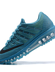 Nike Flyknit Air Max Men's Running Shoes Trainers Sneakers Shoes Navy Gray Cyan Red