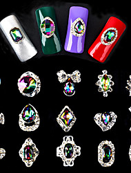 Random Mixed 5pcs-Bijoux pour ongles-Doigt- enAbstrait-as photo show