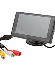 4.3 Inch TFT-LCD Car Rearview Monitor 2 AV Channel