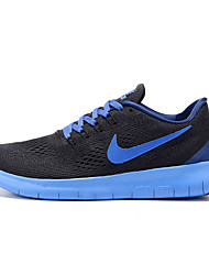 Nike Free Lunar Running Shoes Men's Wearproof Red / Gray / Dark Gray / Black / Blue / Dark Blue Running/Jogging Lace-up Fabric