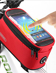 ROSWHEEL® Bike Bag 〈10LLBike Handlebar Bag / Bike Frame BagWaterproof / Rain-Proof / Waterproof Zipper / Dust Proof / Touch Screen /