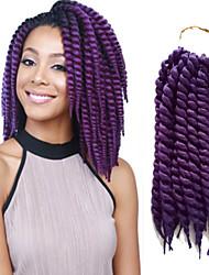 Top Quality 1-12Packs Short Hair Braids Purple Havana Twist Braid Havana Hair Crochet Braid Twist Hairstyles.