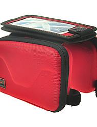 Acacia® Bolsa de Bicicleta 0.7LLBolsa para Guidão de Bicicleta Á Prova-de-Água / Zíper á Prova-de-Água / Vestível / Touch ScreenBolsa de