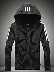 Men's Long Sleeve Jacket,Cotton Casual Color Block