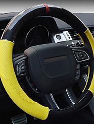 cruze cobertura de volante por quatro temporadas amarelo branco do vermelho