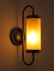 New Arrival Vintage Loft american style retro glass wall lamp bedroom lamp outdoor wall light fixture lamp