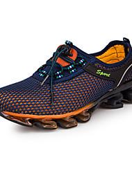 Masculino-Tênis-ConfortoAzul Azul Real-Tule-Ar-Livre Casual Para Esporte