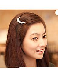 новейший кристалл луна горный хрусталь аксессуары для волос для женщин, заколки для волос для девочек головной убор шпилька зажимы hb144