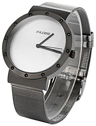 Paidu 58919 Japan Movt Male Quartz Watch Steel Net Strap Wristwatch Wrist Watch Cool Watch Unique Watch