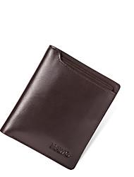 Nawo Uomo Vacchetta Porta carte di credito Marrone-N353132M