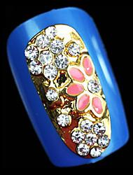 симпатичный умственная полая полное покрытие ювелирных изделий капельное / сверление ногтей