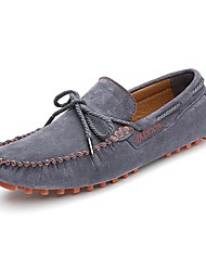 Men's Shoes Wedding / Outdoor /Office & Career/Party & Evening / Dress/ Casual Suede Boat Shoes Blue/Yellow/Red/Gray