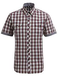 JamesEarl Herren Hemdkragen Kurze Ärmel Shirt & Bluse Gelb-DA102007809