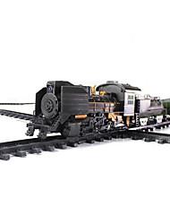 Overlength clássico brinquedos elétricos bateria trem do trilho ferroviário operado