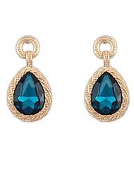 Damen / Unisex Ohrring Legierung / Acryl Strass Drop Earrings