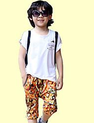 Boy's Cotton Summer One Piece Sport Two-piece