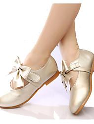 Bailarinas ( Rosado/Dorado/Coral ) - Dedo redondo - Cuero sintético