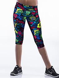 Pantaloni Da donna Skinny Casual / Semplice Poliestere / Elastene Elasticizzato