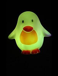 créatif pingouin de changement de couleur coloré nightlight conduit