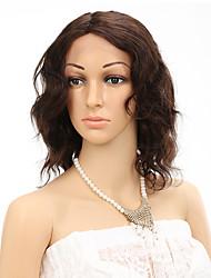 "7A Glueless Lacefront Human Hair Wigs Body Weave Short Wig 100% Brazilian Virgin Hair For Black Women 10"""